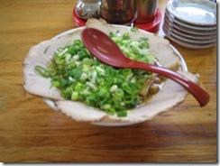 チャーシュー麺です。