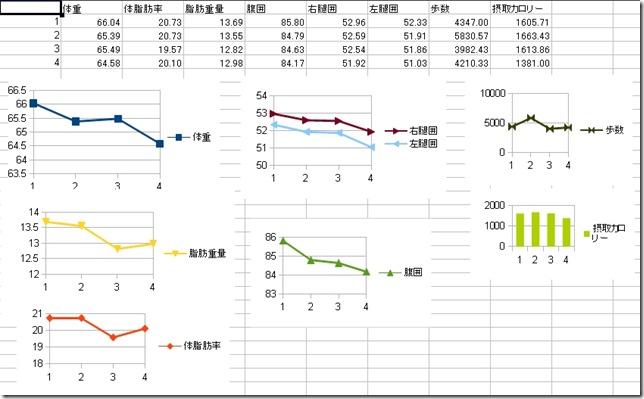 ダイエットグラフ